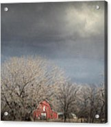 Country Storms.. Acrylic Print by Al  Swasey