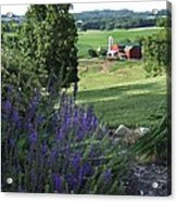 Country Valley Acrylic Print