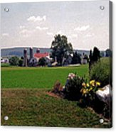 Country Views Acrylic Print