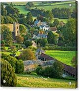 Country Village - England Acrylic Print