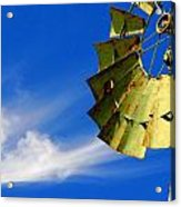Country Windmill Acrylic Print