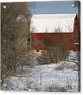 Country Winter Acrylic Print