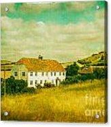 Countryside Homestead Acrylic Print