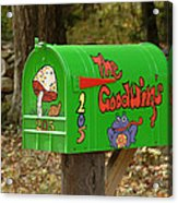 Countryside Mailbox #15 Acrylic Print