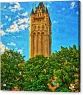 County Courthouse Acrylic Print by Dan Quam
