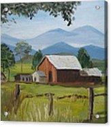 County Farm Acrylic Print