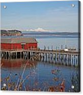 Coupeville Jetty Acrylic Print