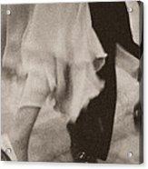 Couple Ballroom Dancing Legs Acrylic Print