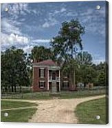 Courthouse At Appomattox Court House Acrylic Print by Stephen Gray