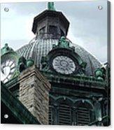 Courthouse Dome In Binghamton Ny Acrylic Print