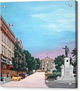 Courthouse Square Brockville Ontario 2009 Acrylic Print