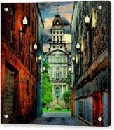 Courthouse Acrylic Print by Tom Mc Nemar