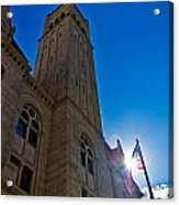 Courthouse Tower Acrylic Print