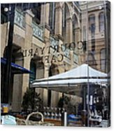 Courtyard Cafe Acrylic Print