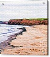 Cousins Shore Prince Edward Island Acrylic Print by Edward Fielding