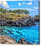 Cove At Mahukona Acrylic Print