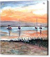 Cove Sunrise Acrylic Print