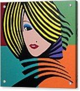 Cover Girl Acrylic Print