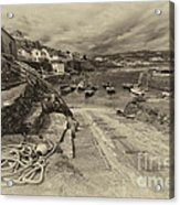 Coverack Harbour  Acrylic Print