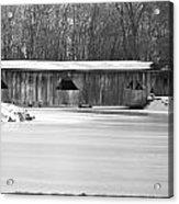 Covered Bridge Acrylic Print by Jennifer  King