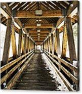 Covered Bridge Littleton New Hampshire Acrylic Print