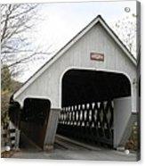 Covered Bridge - Woodstock Acrylic Print