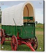Covered Wagon Acrylic Print