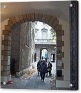 Covered Walkway Of London Acrylic Print