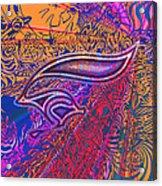 Cow Bunny Acrylic Print