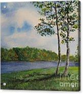 Cowan Lake Acrylic Print