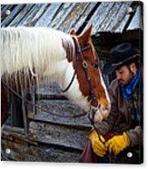 Cowboy Blues Acrylic Print