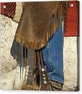 Cowboy Boot Acrylic Print