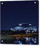 Cowboys Stadium Game Night 1 Acrylic Print