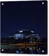 Cowboys Stadium Game Night 2 Acrylic Print