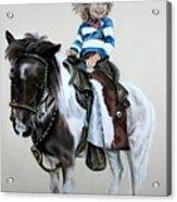 Cowgirl Dee Acrylic Print