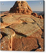 Coyote Buttes Rock Formation Acrylic Print