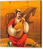 Cossack Mamay Acrylic Print