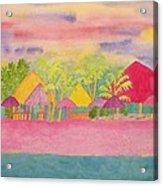 Cozumel Kaleidoscope Acrylic Print