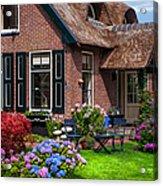 Cozy Corner. Giethoorn. Netherlands Acrylic Print