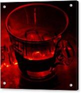 Cozy Evening Cup Of Coffee Acrylic Print by Jenny Rainbow