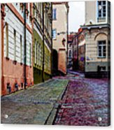 Cozy Old Town Acrylic Print