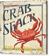 Crab Shack Acrylic Print