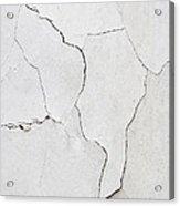 Cracked Stucco  Acrylic Print