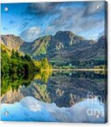 Craf Nant Lake Acrylic Print by Adrian Evans