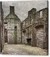 Craigmillar Castle Ruin Edinburgh Acrylic Print
