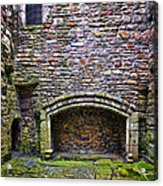 Craigsmillar Castle Kitchen Fireplace Acrylic Print