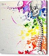 Crainial Sacral Chakra Acrylic Print by James Foote