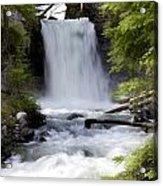 Crandel Creek Falls Acrylic Print