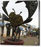 Crap Sculpture Fisherman's Wharf San Francisco Acrylic Print