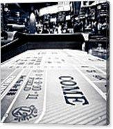 Craps Table In Las Vegas Acrylic Print